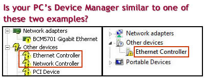 Ethernet Controller Device Manager