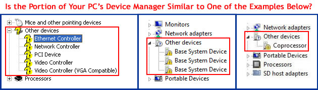 Other Devices in Device Manager