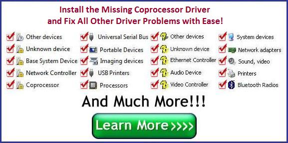 Coprocessor Driver Download Auto