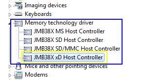 Ricoh Memory Stick Host Controller Windows 7